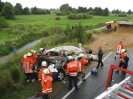 Verkehrsunfall PKL zwischen PKW/LKW Rübke
