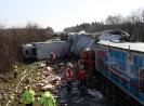 Verkehrsunfall PKL mit 5 LKW