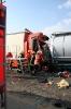 Verkehrsunfall PKL mit 2 LKW