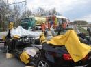 Verkehrsunfall PKL zwischen LKW und PKW