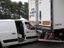 Verkehrsunfall PKL zwischen PKW und LKW