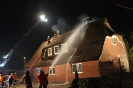 Brennt Reetdachhaus Elstorf