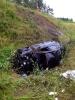 Verkehrsunfall mit eingeklemmter Person A1