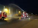 Feuer in Gebäude / Übung Gewerbegebiet Mienenbüttel