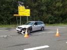 Verkehrsunfall mit eingeklemmter Person B3n