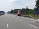 LKW Unfall mit eingeklemmter Person A1 Richtung HB