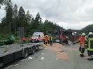 Verkehrsunfall mit 2 LKW A1 Richtung HH