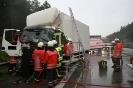 Verkehrsunfall PKL mit LKW A1 Richtung HH