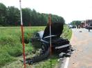 Verkehrsunfall, eingeklemmte Person