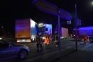 Verkehrsunfall mit 2 LKW