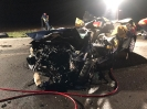 Verkehrsunfall 2 PKW's Frontalzusammenstoß